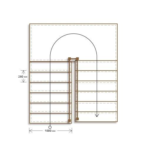 Стоимость облицовки бетонной п-образной лестницы с площадкой